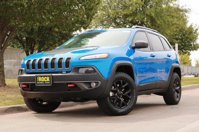 2018 jeep blue. wonderful blue new 2018 jeep cherokee trailhawk in jeep blue