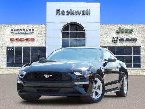 Pre-Owned 2018 Ford Mustang EcoBoost Rockwall Dodge 469-698-2100